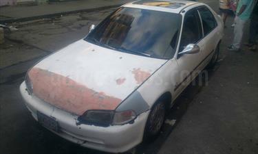 Honda Civic LX Sinc. usado (1992) color Blanco Luna precio u$s650