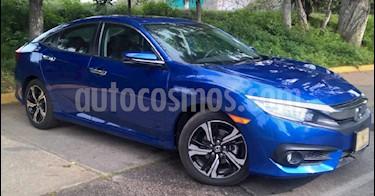 Foto venta Auto Usado Honda Civic Touring Aut (2018) color Azul precio $398,900