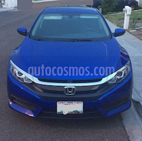 Foto venta Auto usado Honda Civic Turbo Aut (2017) color Azul precio $315,000