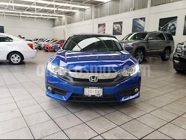 Foto venta Auto Seminuevo Honda Civic Turbo Plus Aut (2017) color Azul Electrico precio $335,000