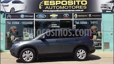 Honda CR-V 2.4 EXL Aut usado (2013) color Gris Oscuro precio $1.350.000