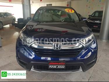 Foto venta Auto Seminuevo Honda CR-V EX 2.4L (166Hp) (2017) color Azul precio $388,000