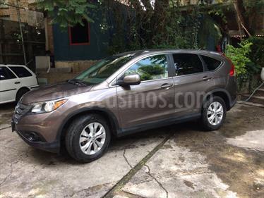Foto venta Auto Usado Honda CR-V EX (2014) color Marron precio $230,000