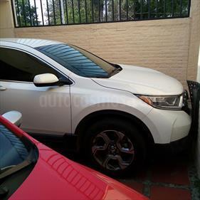 Foto venta Auto usado Honda CR-V Turbo Plus (2017) color Blanco precio $421,000