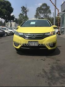 Foto venta Auto Seminuevo Honda Fit EX 1.5L CVT (2016) color Amarillo precio $200,000