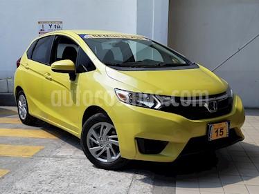 Foto venta Auto Seminuevo Honda Fit Fun 1.5L Aut (2015) color Amarillo precio $167,500