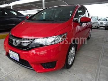 Foto venta Auto Seminuevo Honda Fit Fun (2016) color Rojo precio $170,000