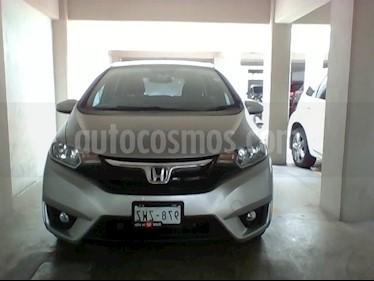 Foto venta Auto usado Honda Fit Hit 1.5L Aut (2015) color Gris precio $185,000