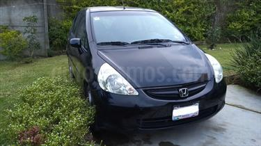 Foto venta Auto Seminuevo Honda Fit LX 1.5L (2008) color Negro Noche precio $83,000