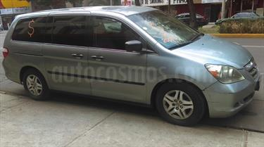 Foto venta Auto usado Honda Odyssey LX (2007) color Verde Acero precio $118,000