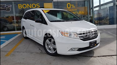 Foto venta Auto Usado Honda Odyssey Touring (2011) color Blanco Marfil precio $215,000
