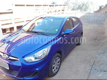 Hyundai Accent HB 1.4 GLS 5P usado (2013) color Azul Oceano precio $6.000.000