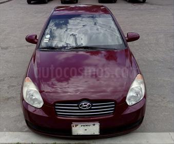 Foto venta Auto usado Hyundai Accent Sedan Verna GL (2007) color Rojo Obscuro precio u$s6,100