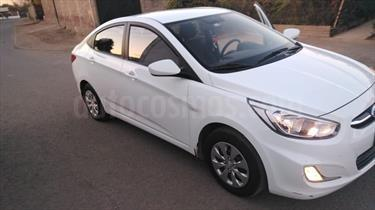 Hyundai Accent 1.4 GL usado (2016) color Blanco precio $6.800.000