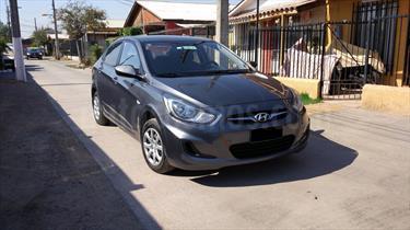 Hyundai Accent 1.4 GL usado (2012) color Gris Carbono precio $5.200.000