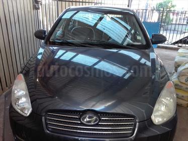 Foto venta Auto usado Hyundai Accent 1.6 GL Ac (2007) color Azul Grafito precio $3.700.000