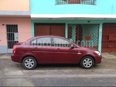 Hyundai Accent GL Aut usado (2010) color Rojo precio u$s7,100
