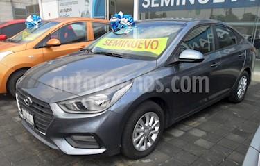 Foto venta Auto Usado Hyundai Accent GL Mid Aut (2018) color Gris precio $240,000