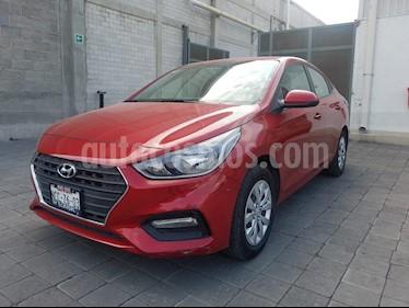 Foto venta Auto Seminuevo Hyundai Accent GL (2018) color Rojo