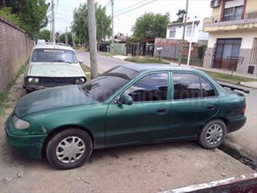 Foto venta Auto usado Hyundai Accent GLS 4P Full CD (1996) color Verde Amazona precio $58.000