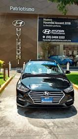 Foto venta Auto Usado Hyundai Accent GLS Aut (2018) color Negro precio $267,900