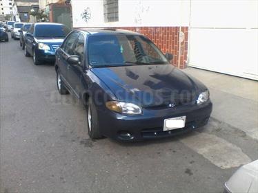 Foto venta carro usado Hyundai Accent LS 1.5 Sinc. (2003) color Azul precio u$s2.000