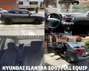 Foto venta Auto usado Hyundai Elantra  1.6 GLS 4P (2007) color Gris Oscuro precio u$s7,600