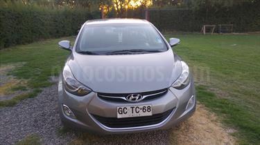 Hyundai Elantra 1.6 GLS Plus   usado (2014) color Plata precio $7.100.000
