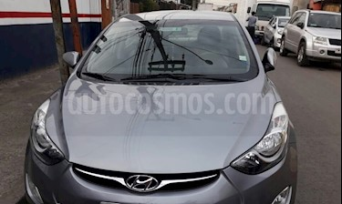 Hyundai Elantra 1.6 GLS  usado (2013) color Gris precio $7.000.000
