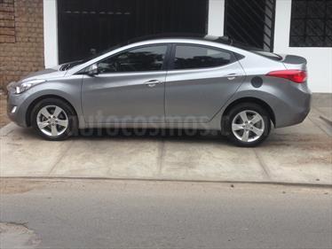 Foto venta Auto usado Hyundai Elantra  GLS 1.6L Aut (2014) color Plata Metalizado precio u$s12,800