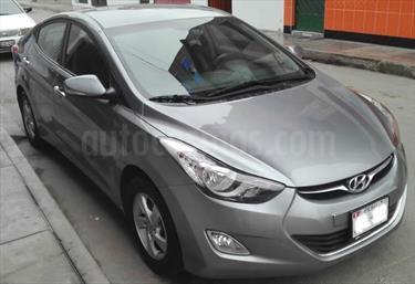 Foto venta Auto usado Hyundai Elantra  GLS 1.6L Aut (2014) color Plata Artico precio $13,400