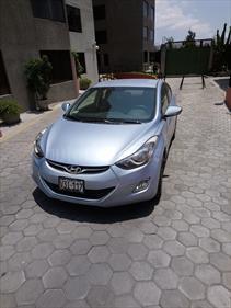 Foto venta Auto usado Hyundai Elantra  GLS 1.6L (2012) color Celeste precio u$s12,500