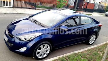 Hyundai Elantra GLS 1.8 Full    usado (2012) color Azul precio $7.400.000