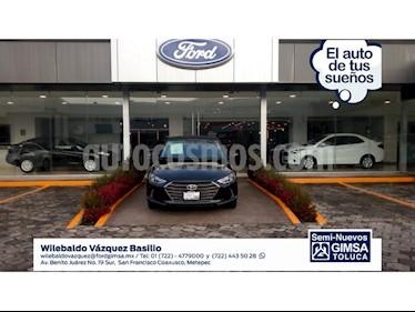 Foto venta Auto Usado Hyundai Elantra LIMITED TECH NAVI (2017) color Negro precio $249,000