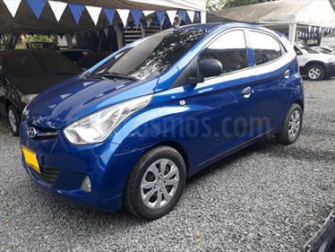 Hyundai EON 0.8 Advance usado (2015) color Azul precio $23.500.000