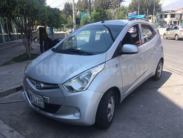 Hyundai Eon 0.8L GL Base usado (2014) color Plata Brillante precio u$s6,500