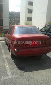Foto venta carro Usado Hyundai Excel LS L4 1.5 8V (1997) color Vino Tinto precio u$s500