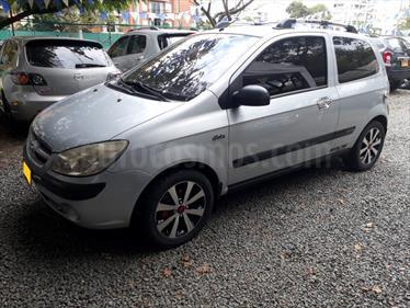 Hyundai Getz 3P 1.4L usado (2007) color Plata precio $15.800.000