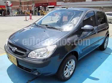 Foto venta Carro usado Hyundai Getz 5 Puertas 1.6 GL Mec (2010) color Gris precio $17.800.000