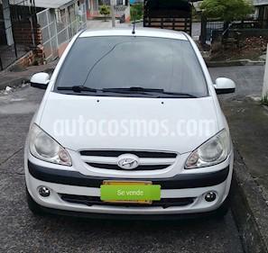 Foto venta Carro Usado Hyundai Getz 5 Puertas 1.6 GL Mec (2008) color Blanco precio $16.500.000