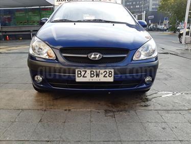 Hyundai GETZ 5P 1.4L Aa usado (2010) color Azul precio $4.200.000