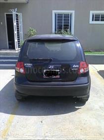 Foto venta carro usado Hyundai Getz GLS 1.6L Aut (2011) color Azul precio u$s3.850