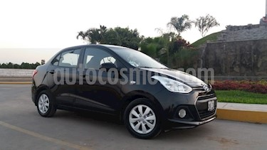 Hyundai Grand i10 Sedan 1.2L GL Plus Aut usado (2015) color Negro precio u$s9,500