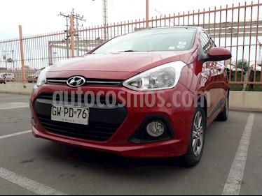 Hyundai Grand i10 1.2 GLS Aut usado (2015) color Rojo precio $6.200.000