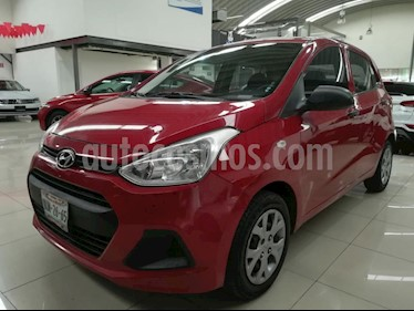 Foto venta Auto Seminuevo Hyundai Grand i10 GL Aut (2016) color Rojo precio $118,000