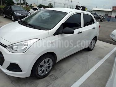 Foto venta Auto Seminuevo Hyundai Grand i10 GL Aut (2017) color Blanco precio $145,000
