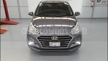 Foto venta Auto Seminuevo Hyundai Grand i10 GL Aut (2018) color Gris precio $209,000