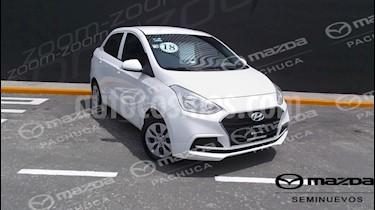 Foto venta Auto Seminuevo Hyundai Grand i10 GL MID Aut (2018) color Blanco precio $178,000