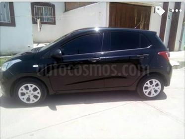 Foto venta Auto Seminuevo Hyundai Grand i10 GL MID (2015) color Negro Noche precio $120,000