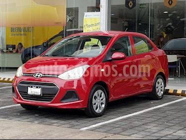 Foto venta Auto Seminuevo Hyundai Grand i10 GL MID (2017) color Rojo precio $157,000